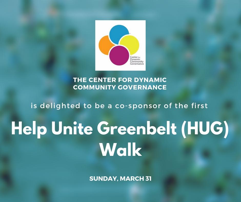Help Unite Greenbelt (HUG) Walk