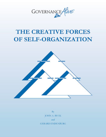 Cover of Creative Forces of Self Organization