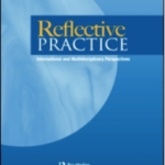 cover of journal of reflective practice